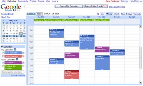 calendars google calendar template 2016