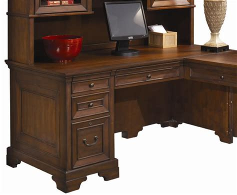 home office furniture richmond va aspenhome richmond 66 inch single pedestal computer desk