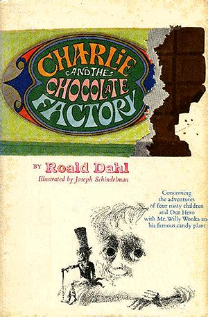 the chocolate factory pictures from the book and the chocolate factory book one