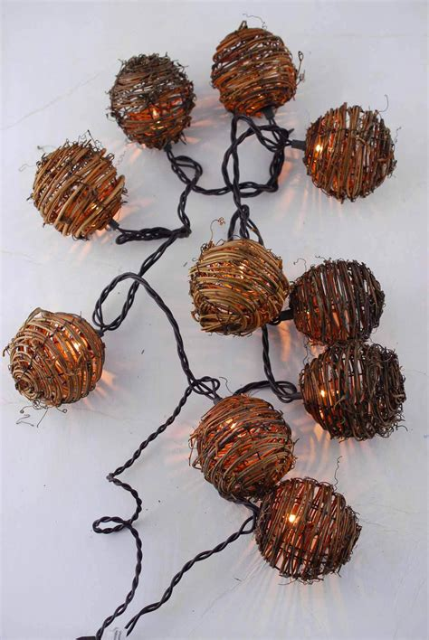 grapevine string lights grapevine string lights 8ft 10ct end to end