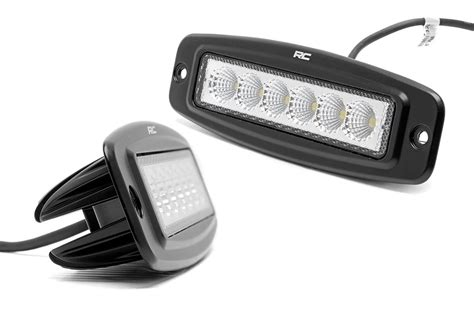 6 inch led light 6 inch flush mount led light bar pair 70916