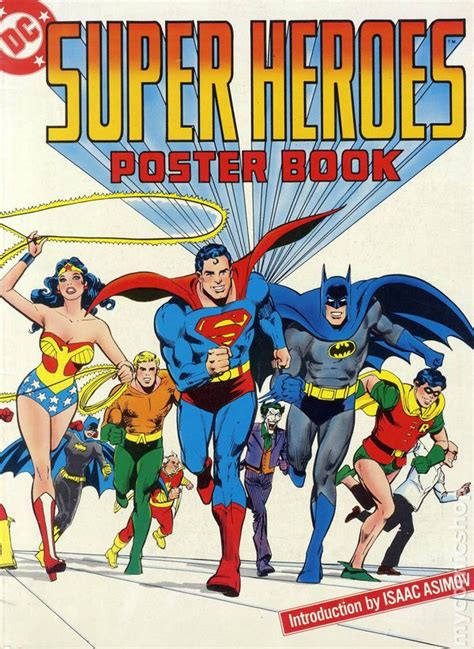 comic book pictures superheroes dc heroes poster book sc 1978 comic books