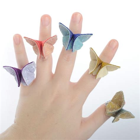 how to make paper rings origami free coloring pages how to make origami butterfly ring