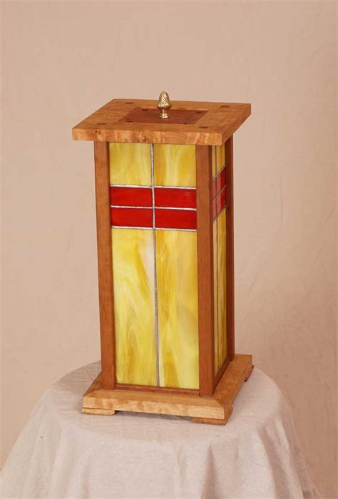 woodworking show 2014 wood cherry stained glass