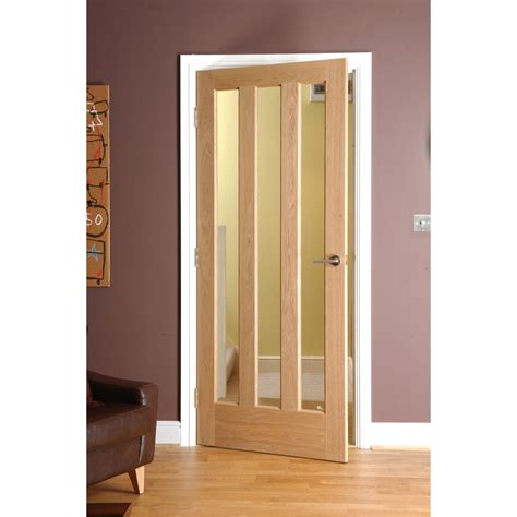 interior glazed doors aragon pre finished oak doors