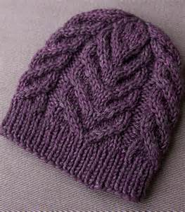 knit s northward a free cable hat pattern tin can knits