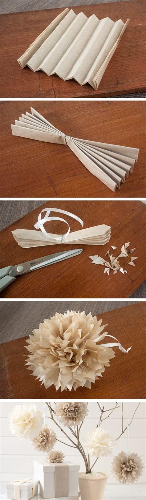 easy tissue paper crafts easy diy tissue paper pom poms craft by photo