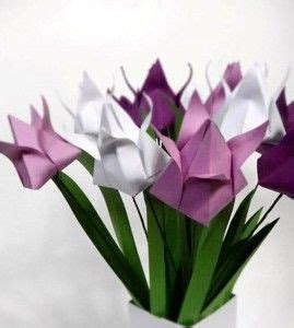 origami tulips bouquet 17 best images about origami tulips on make