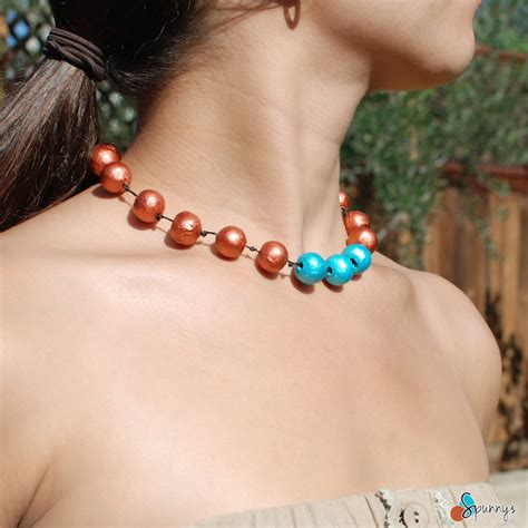 how to make paper bead jewelry paper bead necklace diy spunnys