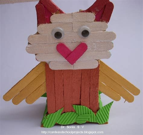 kid crafts with popsicle sticks recycling ideas popsicle stick craft tutorial ladybird