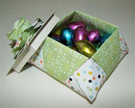 origami gift basket origami easter basket stin up origami boxes