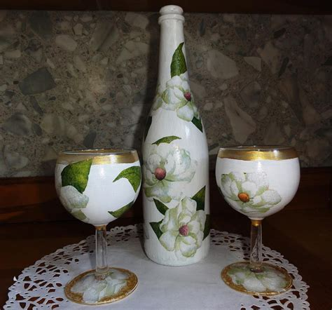 decoupage glass gift ideas archives arts to crafts
