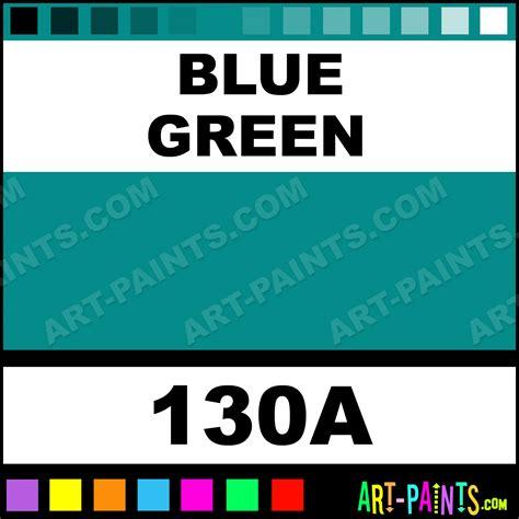 paint colors blue green blue green pro color 24 set watercolor paints 130a