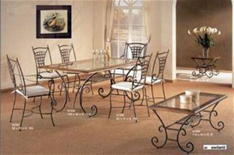 table de salle manger en fer forg