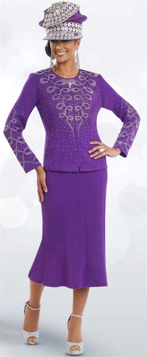 knit suits for womens knit church suit by donna vinci 13197