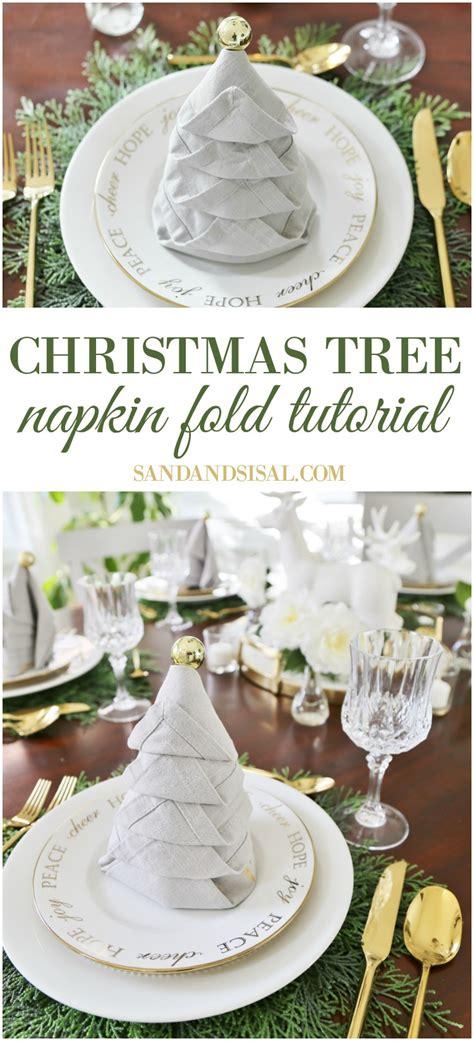 fold tree napkin tree photo album best tree