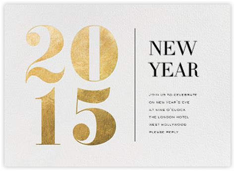 new year card ideas 35 amazing new year cards to welcome 2015 printingdeals org