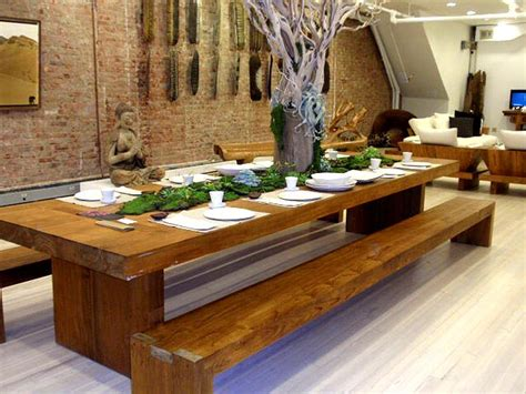 bench dining room tables 15 best dining room decor images on dining