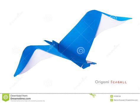origami seagull origami seagull stock photo image 41539759