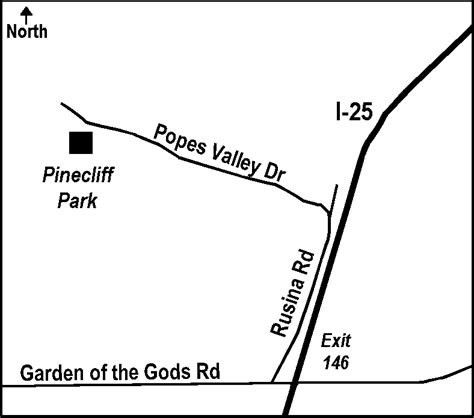 Garden Of The Gods Exit Bfc Pinecliff Park