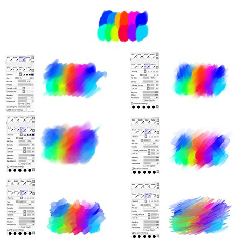 paint tool sai watercolor brush waterbrush settings for paint tool sai by ryky on deviantart