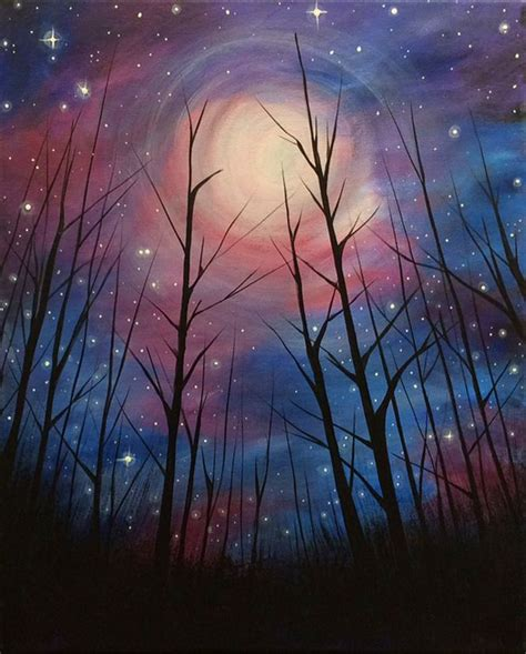 paint nite new years best 25 sky painting ideas on original
