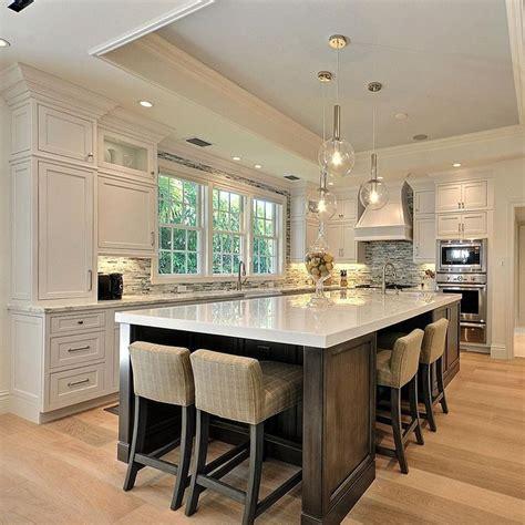 large kitchen island ideas 25 best ideas about kitchen island seating on
