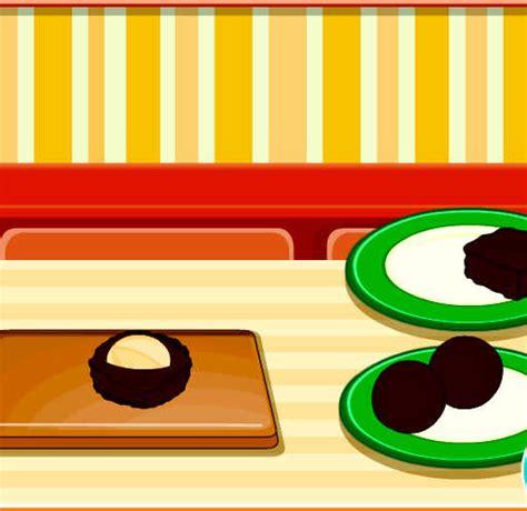 juegos de cocinar chocolates juego para cocinar galletas de chocolate juegos