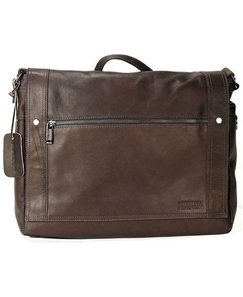 kenneth cole leather bag kenneth cole reaction leather messenger bag
