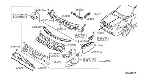 Nissan Parts by 2005 Nissan Altima Sedan Oem Parts Nissan Usa Estore