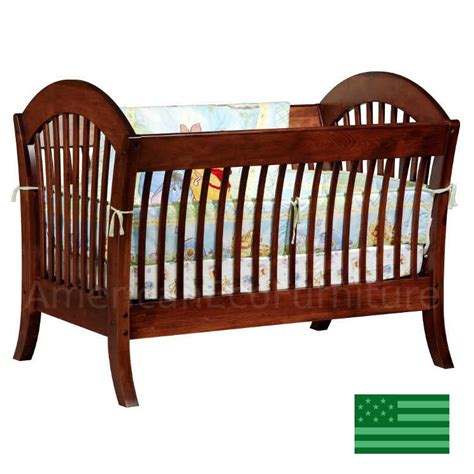 baby cribs made in the usa pacifica 4 in 1 convertible baby crib solid wood made in