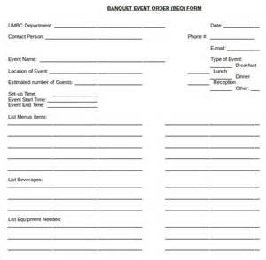 banquet event order template wordscrawl com