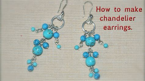 how to make chandelier earrings with how to make chandelier earrings diy