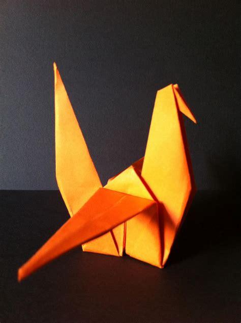 origami moving crane craftaastic paper craft origami