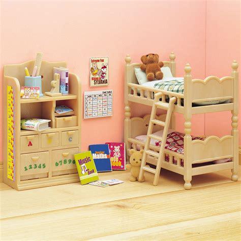 sylvanian families bedroom furniture set sylvanian families childrens bedroom furniture set toys