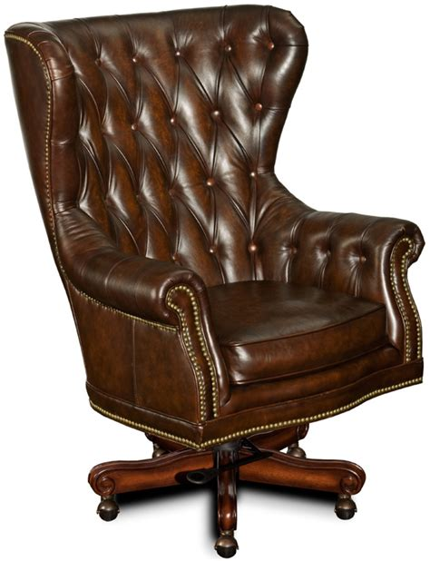 executive office chair leather governors genuine brown leather executive office desk chair ebay