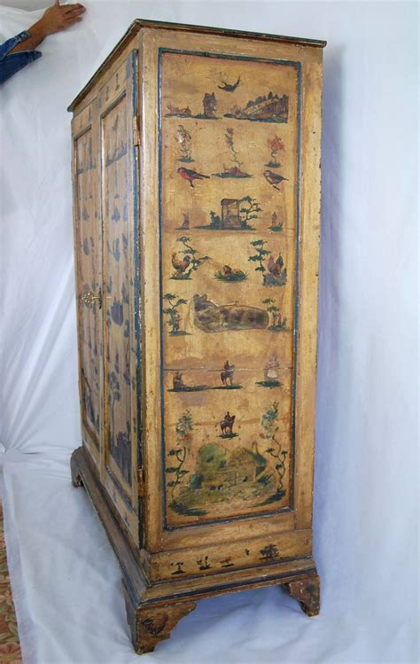 decoupage wardrobe 19th century italian decoupage armoire for sale at 1stdibs
