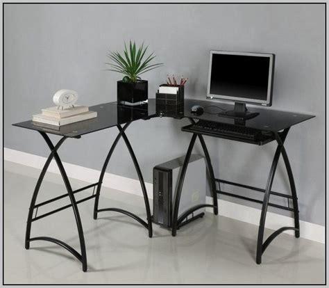glass l shaped desk office depot glass computer desk office depot desk home design