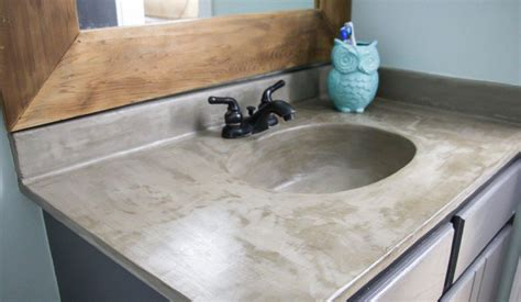 Concrete Vanity Top by Learn How Our Diy Concrete Vanity Is Holding Up 18 Months