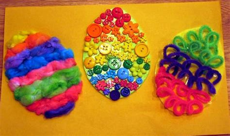 sensory crafts for 11 easter crafts bunnies and tulips