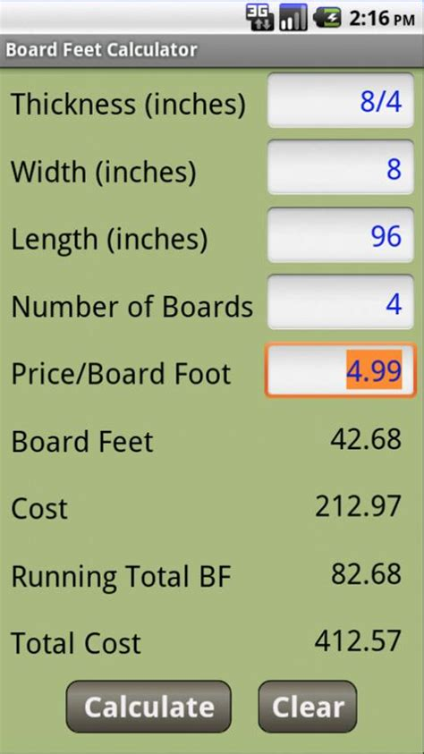 woodworking calculator woodworking calculators android apps on play