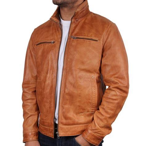 mens light brown leather jacket light brown leather jacket caffection