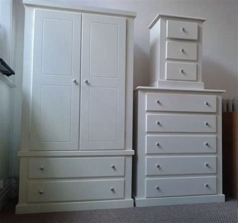 white ready assembled bedroom furniture made berkeley white 3 bedroom set no flatpacks