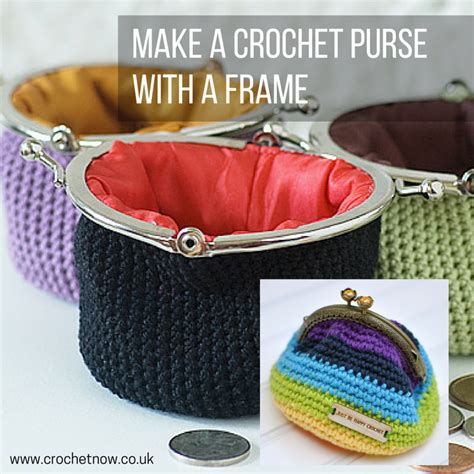 how to make a purse with metal frame crochet coin purse patterns and tutorials for