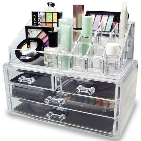 makeup holder acrylic jewelry and makeup organizer mycosmeticorganizer