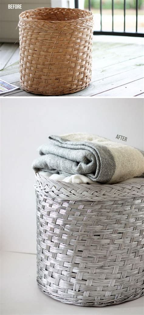 spray painting wicker amazing spray paint project ideas to beautify your home