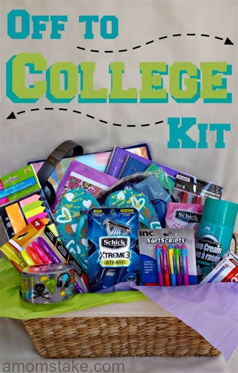 college student gift ideas 7 best college survival kit images on college