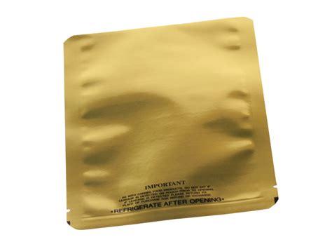 8 Oz Gold Retort Pouch