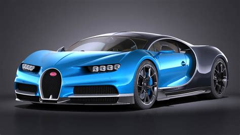 Bugatti Chiron Model Car by 3d Model Of Bugatti Chiron 2017