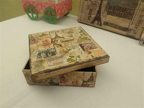 vintage decoupage ideas 17 best images about cajas decoupage on